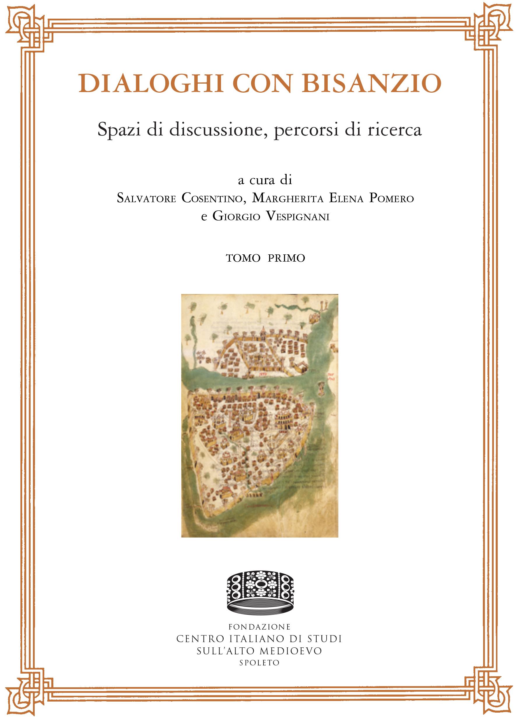 Copertina Atti VIII Congresso Nazionale Studi Bizantini